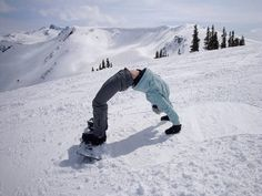 Snowboard yoga? Really? Well I've seen it all lol