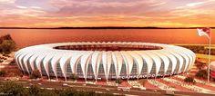 COPA DO BRAZIL 2014: 6. Estádio Beira-Rio em Porto Alegre Número de Espectadores: 60,000