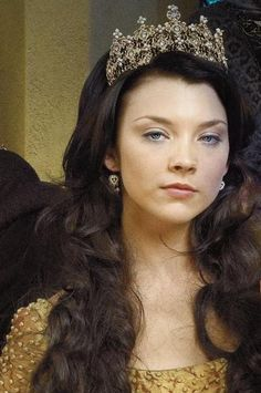 Natalie Dormer! She is a beautiful actress. So much talent. I loved her performance as Anne Boleyn in the Tudors was incredible. She brought out the beauty, strength, and intelligence in Anne Boleyn.