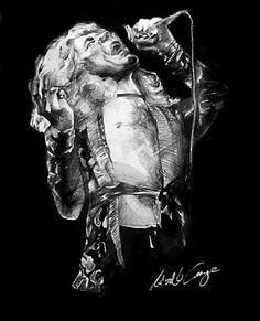 Robert Plant artwork https://www.etsy.com/shop/MadhouseArtStore