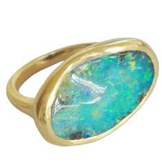 Dalben Boulder Opal Gold Ring                              …