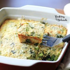 I love cookbooks and this one is packed full of healthy recipes like this Quinoa Quiche which is actually called Comforting Cheddar and Broccoli Quiche with Quinoa Crust but I thought that title was a little long!!