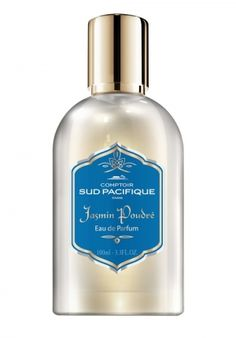 Jasmin Poudré Comptoir Sud Pacifique Top note : Calamus, Osmanthus, Fig. Heart note : Jasmine, Ylang Ylang, Iris, Rose. Base note : Styrax, Wood and Amber, Musk.