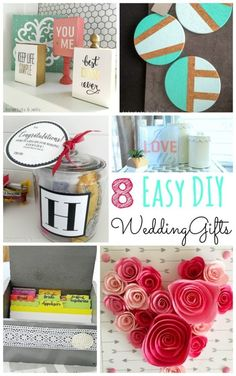 Wedding Seasons is here!! Here are 8 Easy DIY Wedding Gift Ideas | eBay (spon)