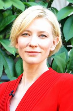 Cate Blanchetts chic, short hairstyle | Your Hairstyle Solutions