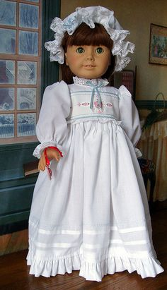 """Romance"" by Kathy K13, via Flickr--beautiful doll clothes on this site"