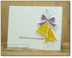Carefree Creations | Wedding Bells | http://carefreecreations.haman.us