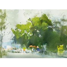 Watercolour on paper, Paintings, Artcafe, Kalakriti, Untitled-X