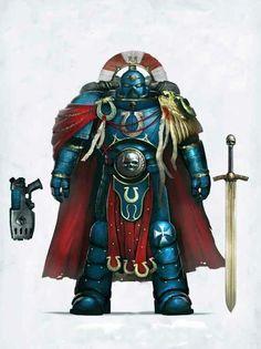 Cap. Cato Sicarius Herzog von Talassar. Captain der 2. Komp.  Ultramarine