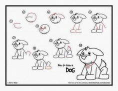 How To Draw A Dog.