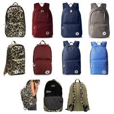 a867053b95f53 UNISEX CONVERSE City-Rucksack Core Poly ALL STAR City-Rucksack Erwachsene  Kinder Daypack Backpack Chuck Taylor Hand-Gepäck Stern Tasche 25-29 Liter