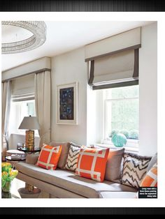 Blinds with pelmet