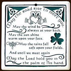 .An Irish Prayer...