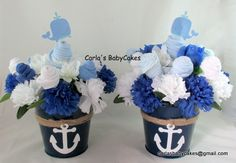 Nautical baby shower decorations - nautical baby shower - custom request.  Order yours today!