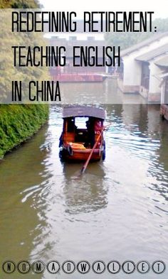 Redefining Retirement: Teaching English in China — an Interview With Ruth http://www.nomadwallet.com/ruth-interview/