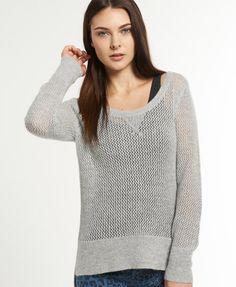 Superdry Crochet Crew - Women's Sweaters...  LOVE this!!!