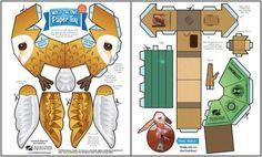 PAPERMAU: paper toy