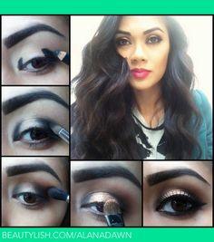 DIY makeup tutorial   Alana D.'s (alanadawn) Photo   Beautylish