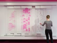 Sliding glass panels reveal and combine different levels of interpretation in this interactive infographic.