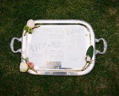 silver + white classic invitation suite | 509 Photo