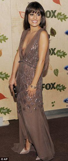 Lea Michele - my favorite look!
