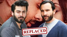 #FawadKhan REPLACED By #SaifAliKhan In #AeDilHaiMushkil Watch Video ☞