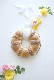 """""""di cuore"""": corona di pan brioche lievitato dolce cottura in pentola fornetto"""