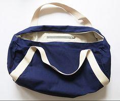 Sporttasche zum Selbernähen von DIY Sewing Academy #selbermachen #diy