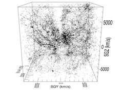 Spectacular Cosmographic Maps Chart Galaxies and Superclusters in Local Universe