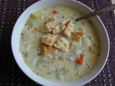 Tortillas and Honey: Old-Fashioned Potato Soup