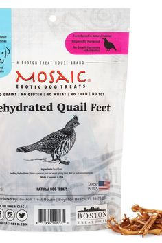 Quail supply is responsibly harvested in the USA. The Quail are raised in their natural habitat, and are free of growth hormones and antibiotics. Mosaic Dehydrated Quail Feet are free of grains, gluten, wheat, corn and soy. Mosaic Dehydrated Quail Feet is a perfect protein source for dogs that are affected by food allergies from common proteins, such as chicken, beef, and pork. These little crunchy feet are a perfect, single-ingredient snack for smaller do #RawGarlicBenefitsNaturalAntibiotics Best Cough Remedy, Homemade Cough Remedies, Cold And Cough Remedies, Home Remedy For Cough, Dry Cough, Cold Home Remedies, Natural Home Remedies, Herbal Remedies
