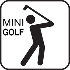 Mini golf: Set up a golf course with different degrees of difficulty for students of different ages. Be creative and enlist kids to help design the course.