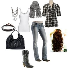 "Country Fall Fashion | ... ' Country"" - possible look for the fall 