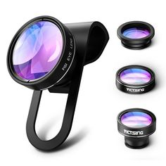 Lens Filter 52mm Round Circle UV Lens Filter for GoPro Hero 4//3 Camere Accessories
