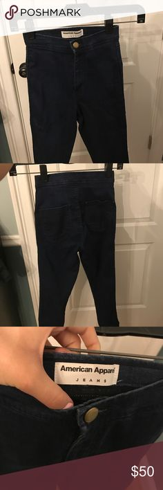 American apparel easy jeans Very cute, fits so comfy. They don't fit me anymore American Apparel Jeans Skinny