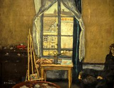 Pierre Bonnard- The Artist's Studio, 1900.