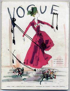 Vogue Paris 1948 April Tom Keogh Arik Nepo Special Collections Christian Dior Balenciaga