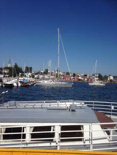 Lillesand harbor Norway, Pictures, Photos, Grimm