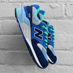 New Balance 999 - Navy Blue Aqua