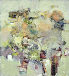 <b>Synchronous #1</b><br>Acrylic on Canvas, 36 X  32<br>Available