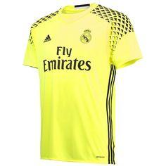 Real Madrid Away Goalkeeper Shirt 2016-17: Real Madrid Away Goalkeeper Shirt 2016-17 Become #1 with the… #RealMadridShop #RealMadridStore
