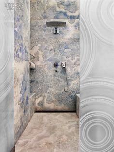 6 cách chọn lựa chất liệu lát phòng tắm giúp tăng hiệu ứng thị giác - Ảnh 4.