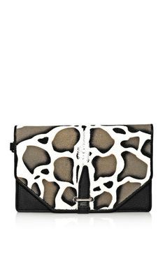 3.1 Phillip Lim Accessories Jaguar Print Stingray Small Flap Clutch. TopShelfClothes.com