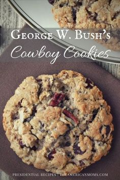 George W Bush Cowboy Cookies The most beautiful, most delicious, newest recipes on this page. Desserts Nutella, Pudding Desserts, Köstliche Desserts, Dessert Recipes, Plated Desserts, Cokies Recipes, Dinner Recipes, Health Desserts, Holiday Recipes