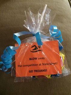 DIY Darlin: Swim Meet Treats Round 2, bubbles, blow pops, and bubble gum, swimming treats, lot of ideas