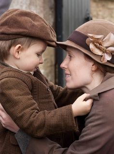 Downton  Abbey. Saying goodbye to Charlie