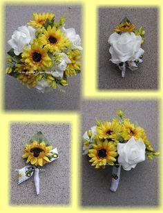 White John Deere Wedding Bouquet John Deere Wedding Flowers, John