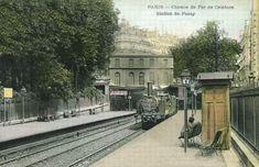 Les gares de la Petite Ceinture dans le 16e arrondissement - la gare de Passy (réaffectée en restaurant)