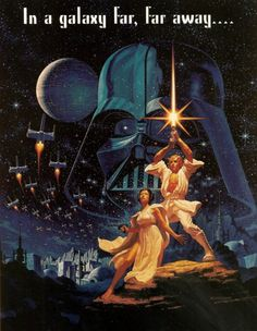 35 Years Ago Today…  Star Wars (A New Hope) was released in theaters for the first time.