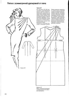 We disassemble the modeling and cutting of knitted dresses, tops, etc.